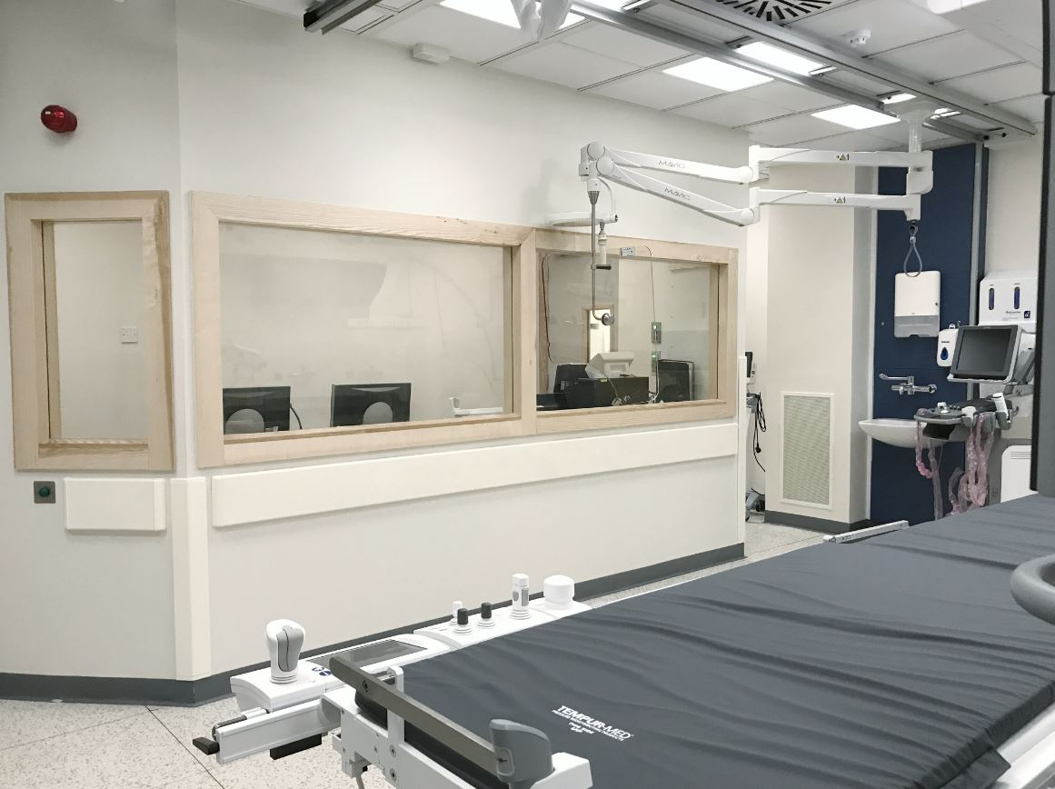 Tom O Brien Construction Angiograph Unit Radiology